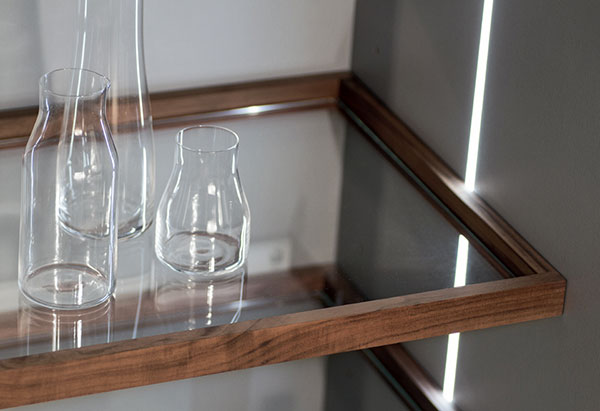glass shelf with wood frame snaidero accessories rh snaideroaccessories com wood and glass shelf supports home depot wood and glass wall shelves