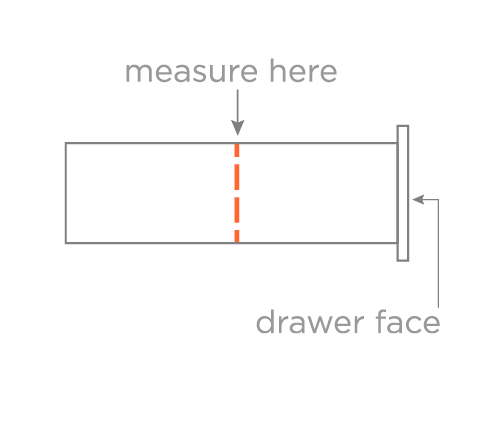 Drawer Height Diagram