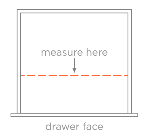 Drawer Width Diagram